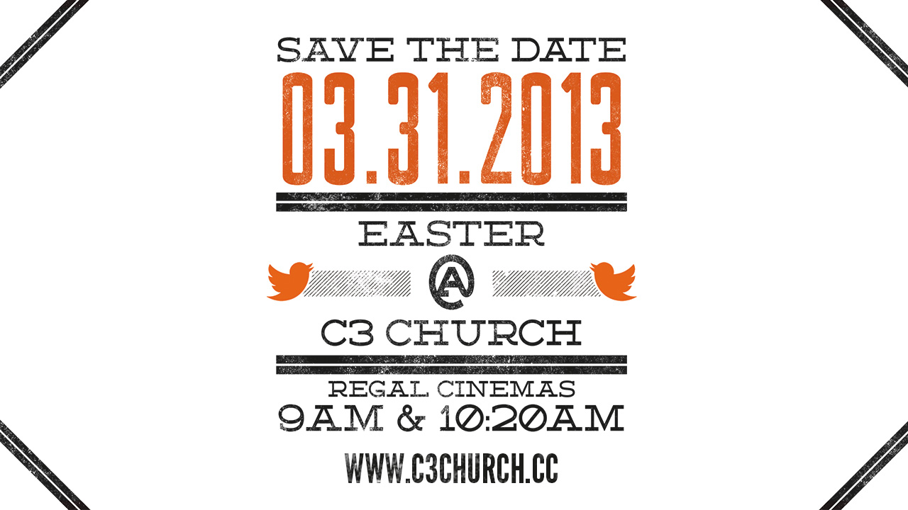 """C3 Church"" ""Church"" ""Easter"" ""Byron Bledsoe"""