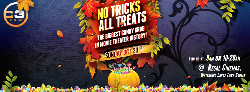C3 Church, Regal Cinemas Waterford, Halloween Orlando