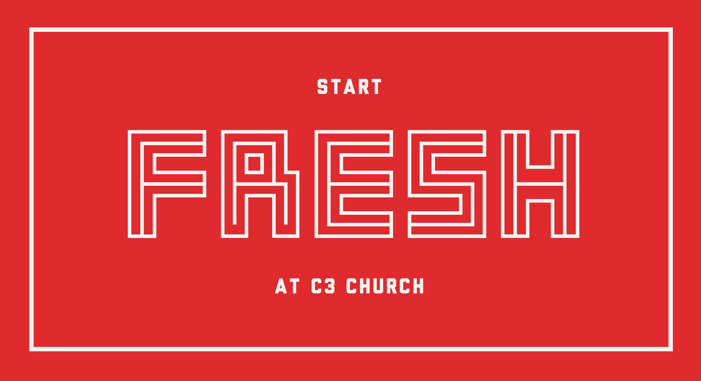 C3 Church, Blessed Life, 2014